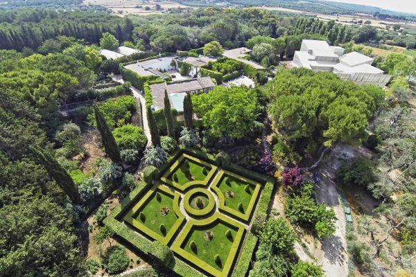 Giardino all'Italiana - vista dall'alto